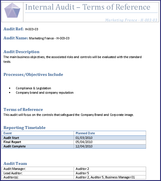 Audit workpaper template internal audit work paper for Audit workpaper template