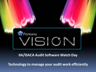IIA/ISACA Audit Software Watch Day